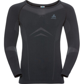 Odlo Performance Light Crew Neck LS Shirt Men black-odlo graphite grey